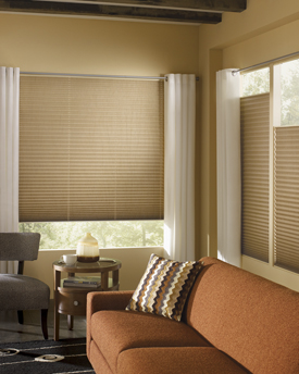 Hunter Douglas Brilliance Pleated Shades